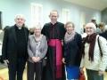 Fr Gerry Nylon, Mai Farrell, Bishop Fintan Monaghan,