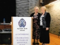 National President - Anne Donaghy with Down & Connor President - Margaret Buckle