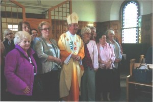 Down & Connor members with Archibishop Martin