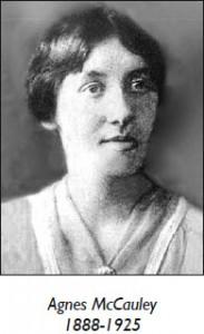 Agnes McCauley 1888-1925